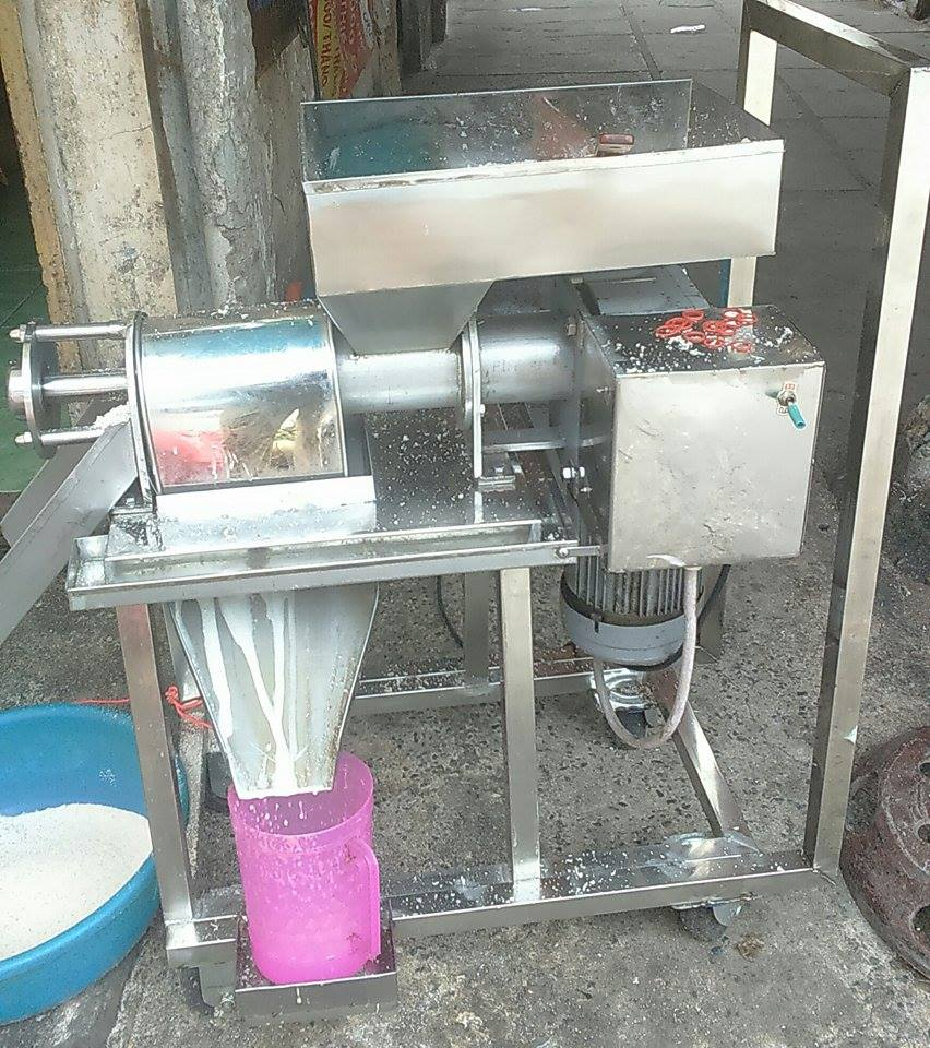 Thanh lý máy ép nước cốt dừa