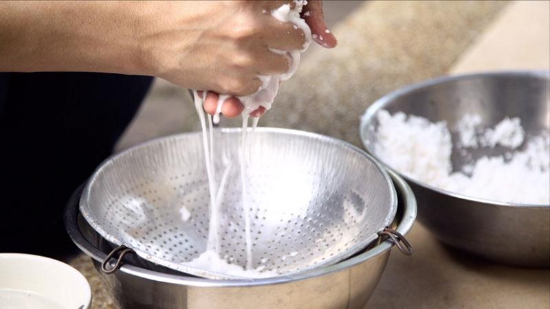 tự làm nước cốt dừa