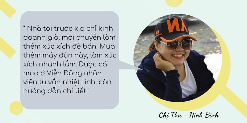 Chị Thu - Ninh Bình