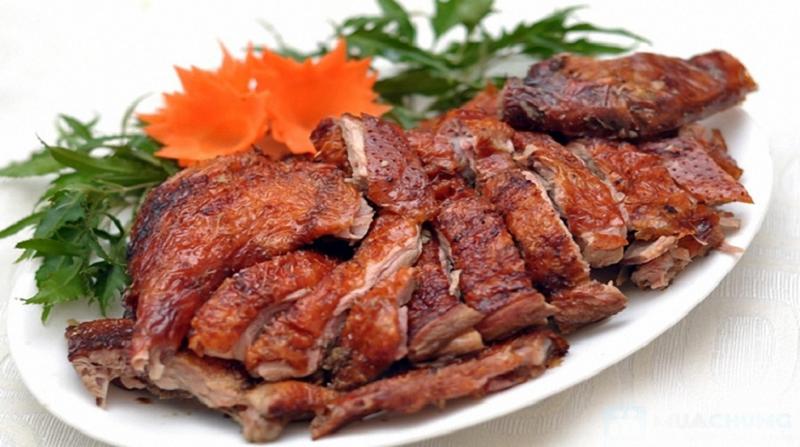 thịt vịt quay thơm ngon từ lò quay vịt inox
