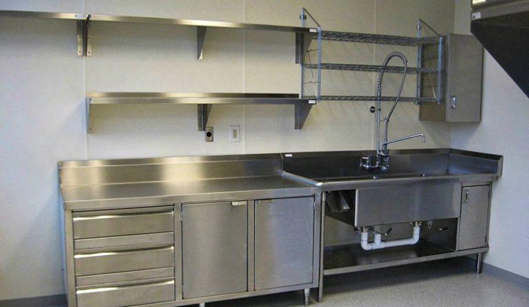 bàn bếp inox