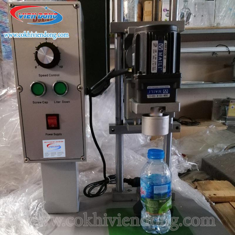 Giá thành hợp lí vừa phải của máy đóng nắp chai