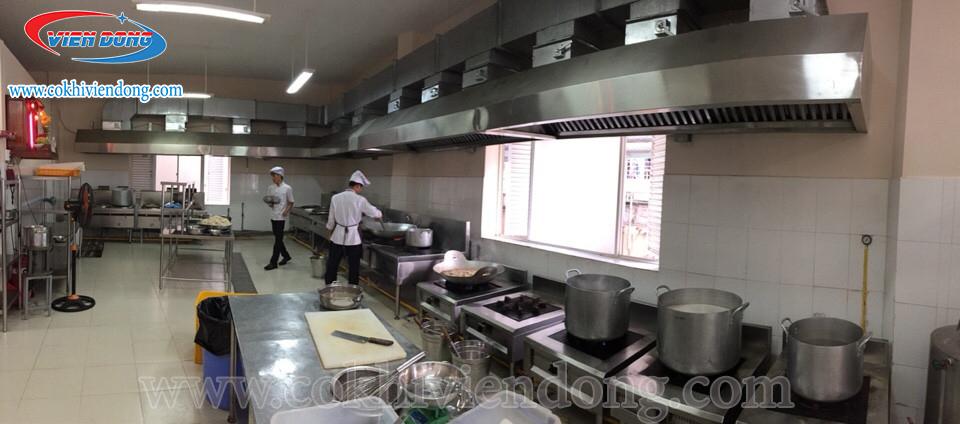 Tiện ích của bếp công nghiệp Châu Âu