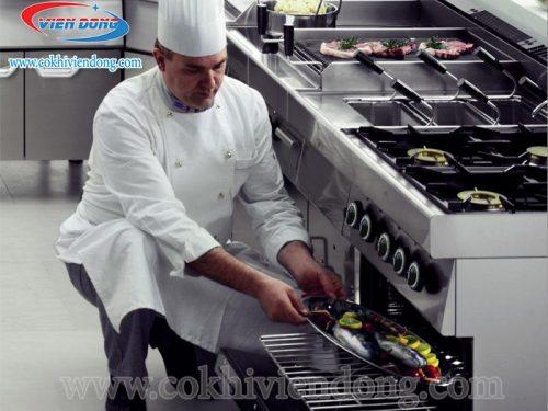 bếp công nghiệp Châu Âu