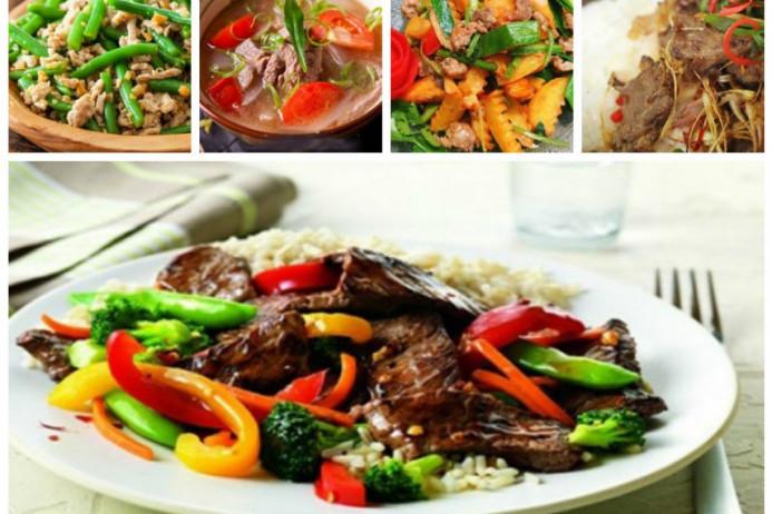 Các món ăn từ bò