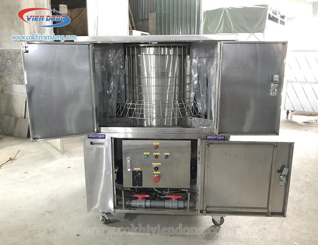 Máy rửa bát công nghiệp xoay 360