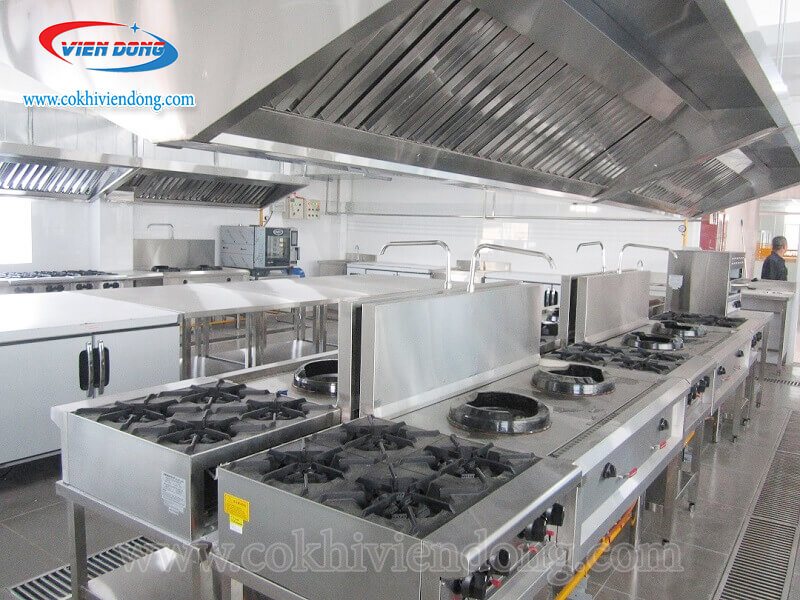 Gian bếp sử dụng bếp Âu