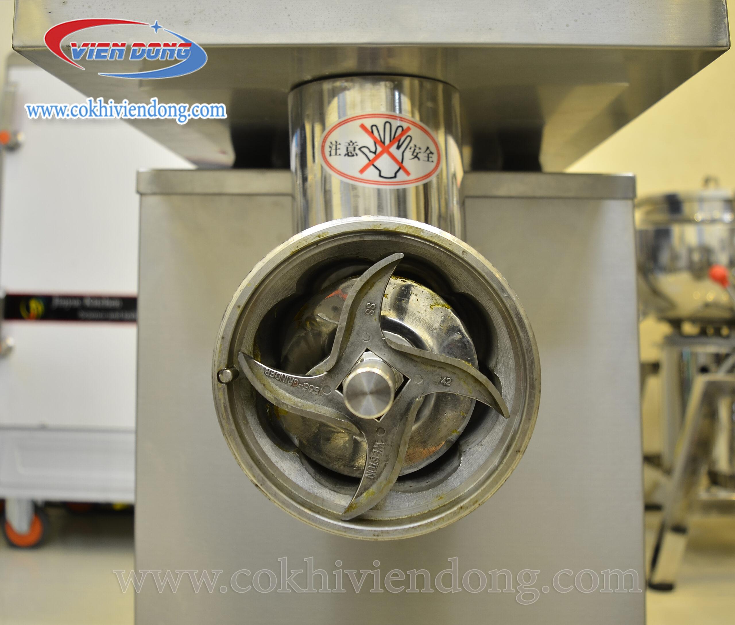 Cấu tạo đi liền của máy xay thịt công nghiệp JX32